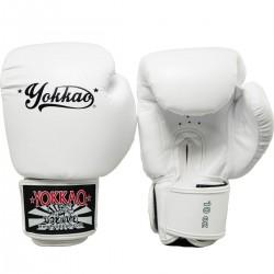 Yokkao Rękawice bokserskie Vertigo Białe 1