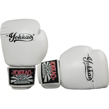 Yokkao Rękawice bokserskie Vertigo Białe 3