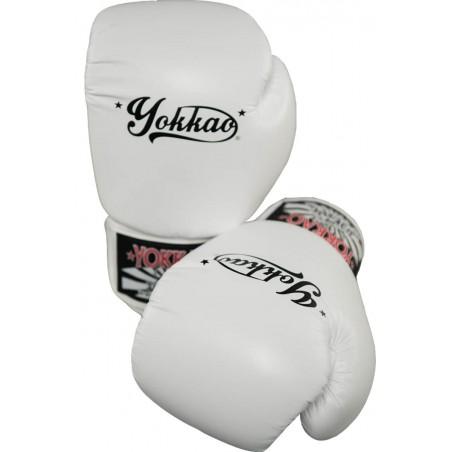Yokkao Rękawice bokserskie Vertigo Białe 4