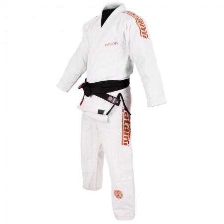 Tatami Kimono/Gi Estilo 6.0 Białe/Pomarańczowe 3