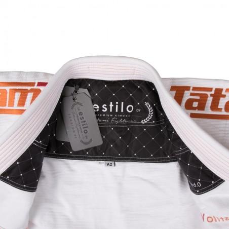 Tatami Kimono/Gi Estilo 6.0 Białe/Pomarańczowe 6