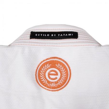 Tatami Kimono/Gi Estilo 6.0 Białe/Pomarańczowe 7
