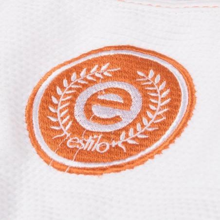 Tatami Kimono/Gi Estilo 6.0 Białe/Pomarańczowe 8
