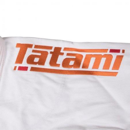 Tatami Kimono/Gi Estilo 6.0 Białe/Pomarańczowe 9