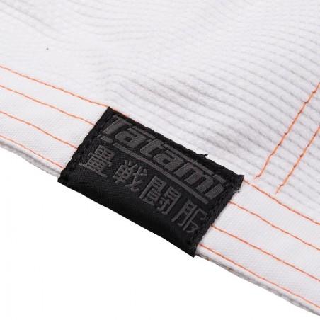 Tatami Kimono/Gi Estilo 6.0 Białe/Pomarańczowe 16