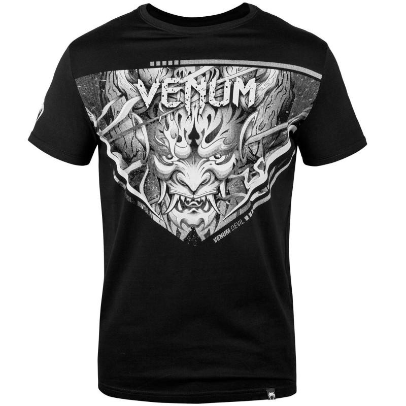 Venum T-shirt Devil Czarny