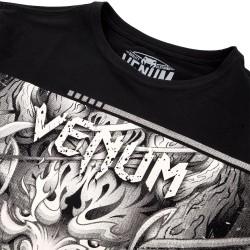 Venum T-shirt Devil Czarny 1
