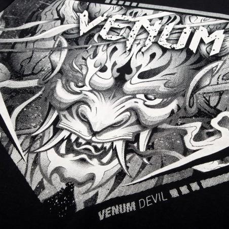 Venum T-shirt Devil Czarny 6