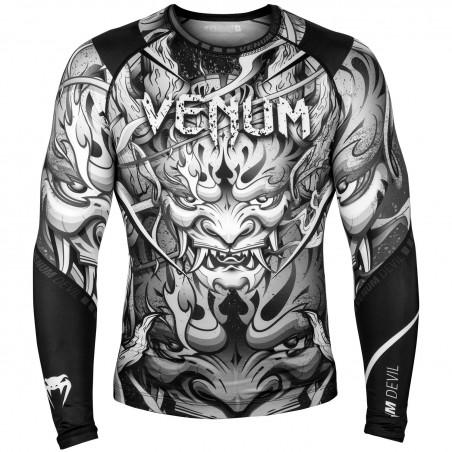 Venum Rashguard Devil Długi Rękaw Czarny 1