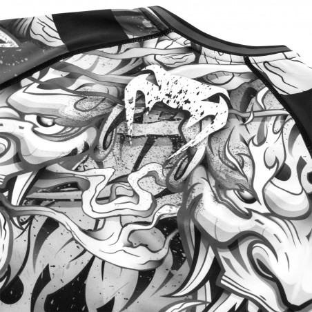 Venum Rashguard Devil Długi Rękaw Czarny 7
