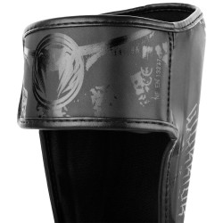 Venum Ochraniacze Piszczeli Gladiator 3.0 Czarne/Czarne 1