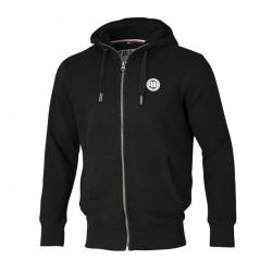 Pit Bull Bluza z kapturem rozpinana Small Logo 18 Czarna 1