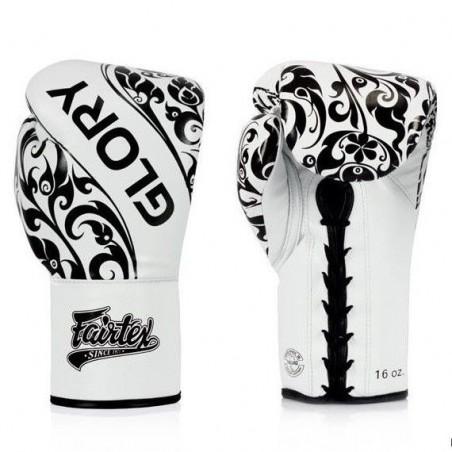 Fairtex Rękawice Bokserskie BGLG2 Białe 2