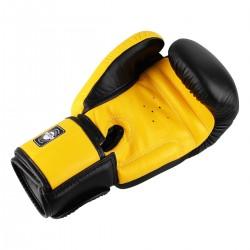 Twins Rękawice bokserskie BGVL-3 Czarne/Żółte 1