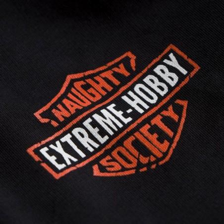 Extreme Hobby Bluza z kapturem rozpinana Naughty Society Czarna 6