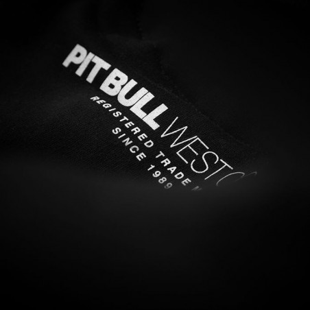Pit Bull Bluza z kapturem Classic Boxing 18 Czarna 5