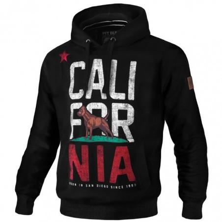 Pit Bull Bluza z kapturem California Flag Czarna 1