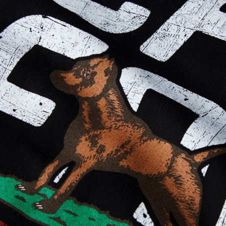 Pit Bull Bluza z kapturem California Flag Czarna 9