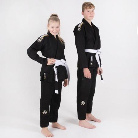 Tatami Kimono/Gi do BJJ dla Dzieci Nova Absolute Czarne 2