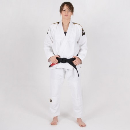 Tatami Kimono/Gi Damskie Nova Absolute Białe 4