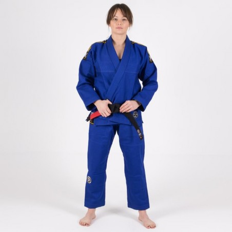 Tatami Kimono/Gi Damskie Nova Absolute Niebieskie 4