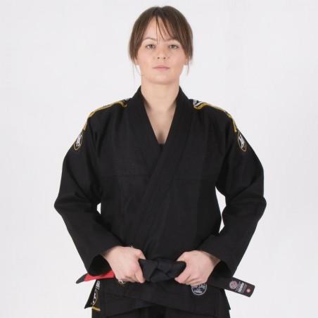 Tatami Kimono/Gi Damskie Nova Absolute Czarne 1
