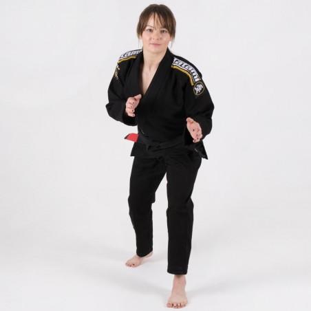 Tatami Kimono/Gi Damskie Nova Absolute Czarne 2