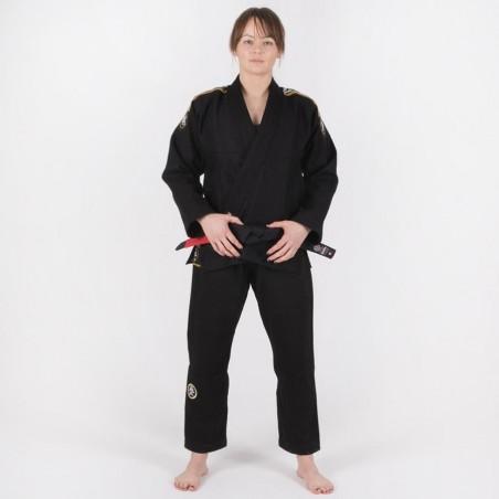 Tatami Kimono/Gi Damskie Nova Absolute Czarne 4