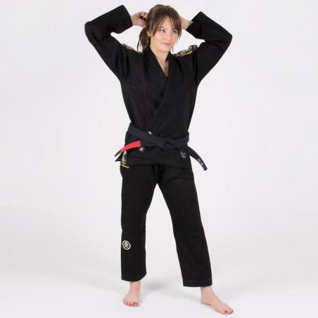 Tatami Kimono/Gi Damskie Nova Absolute Czarne 5