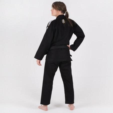Tatami Kimono/Gi Damskie Nova Absolute Czarne 6