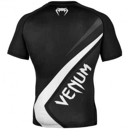Venum Rashguard Contender 4.0 Krótki Rękaw Czarny 2