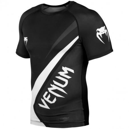 Venum Rashguard Contender 4.0 Krótki Rękaw Czarny 3