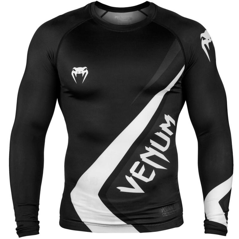 Venum Rashguard Contender 4.0 Długi Rękaw Czarny