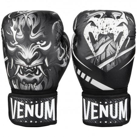 Venum Rękawice bokserskie Devil Czarne 1