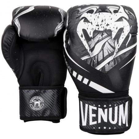 Venum Rękawice bokserskie Devil Czarne 3