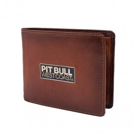 Pitbull Portfel Skórzany Brant Brązowy 1