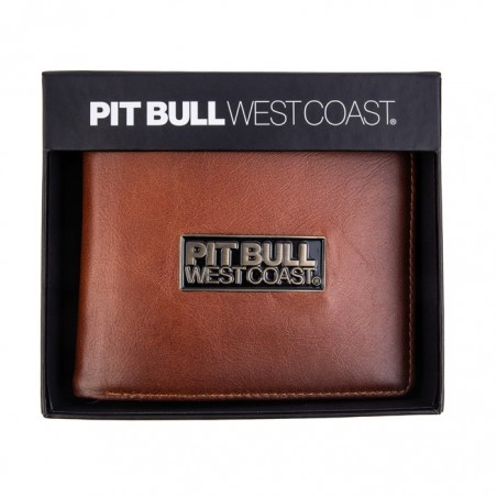 Pitbull Portfel Skórzany Brant Brązowy 3