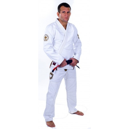 KiNGZ Kimono/Gi BJJ Knight Białe 3