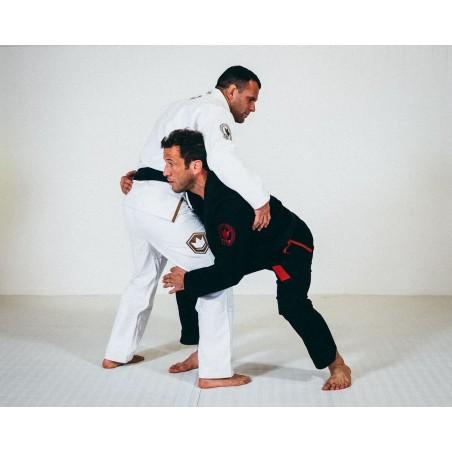 KiNGZ Kimono/Gi BJJ Knight Białe 8