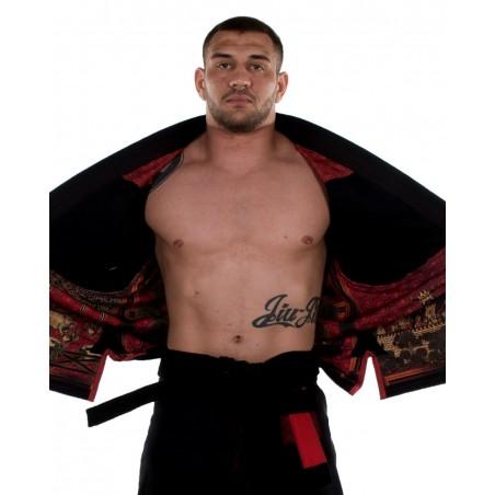KiNGZ Kimono/Gi BJJ Knight Czarne 3
