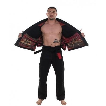 KiNGZ Kimono/Gi BJJ Knight Czarne 4