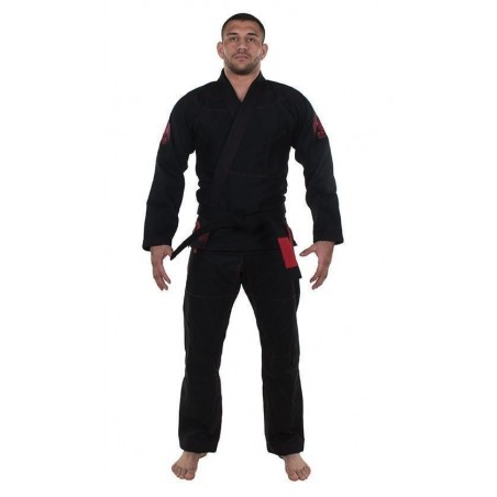 KiNGZ Kimono/Gi BJJ Knight Czarne 5