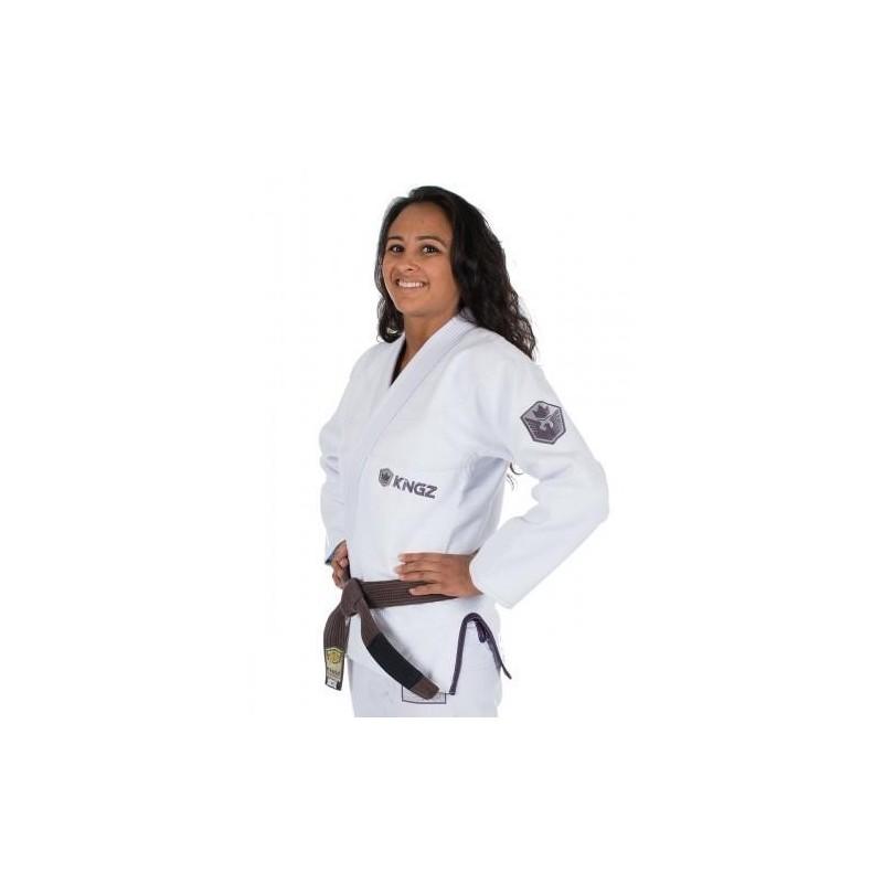 KiNGZ Kimono/Gi Damskie Balistico 2.0 Białe