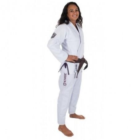 KiNGZ Kimono/Gi Damskie Balistico 2.0 Białe 2