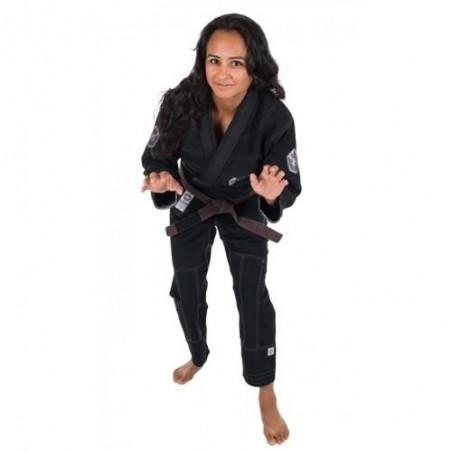 KiNGZ Kimono/Gi Damskie Balistico 2.0 Czarne 5