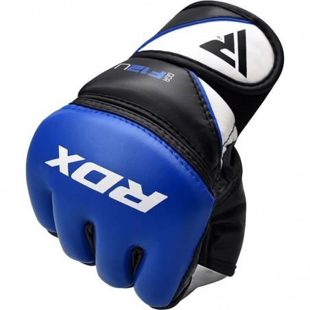 RDX Rękawice do MMA GGRF-12 Niebieskie 2