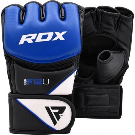 RDX Rękawice do MMA GGRF-12 Niebieskie 4