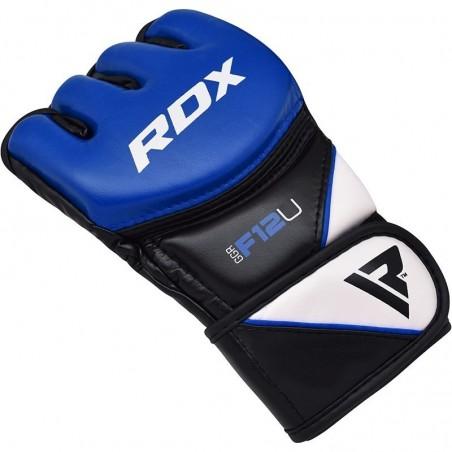 RDX Rękawice do MMA GGRF-12 Niebieskie 6