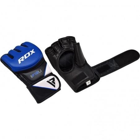 RDX Rękawice do MMA GGRF-12 Niebieskie 7