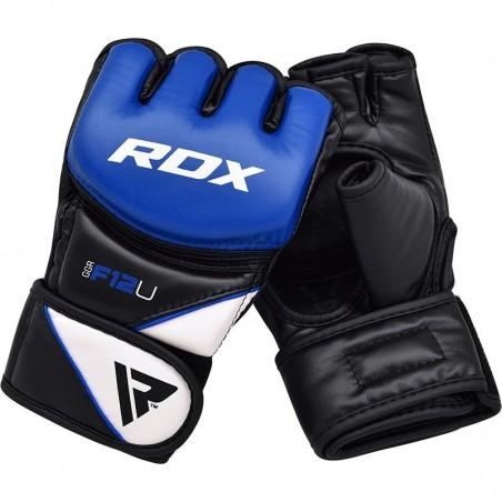 RDX Rękawice do MMA GGRF-12 Niebieskie 8